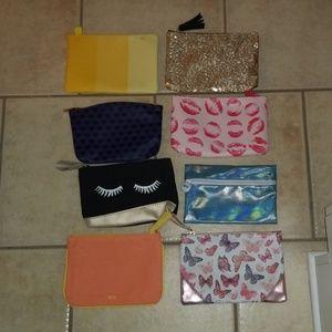 Beauty makeup bags/ pouches